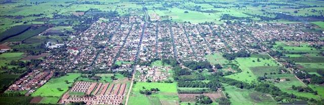 Vista aérea de Tupi Paulista